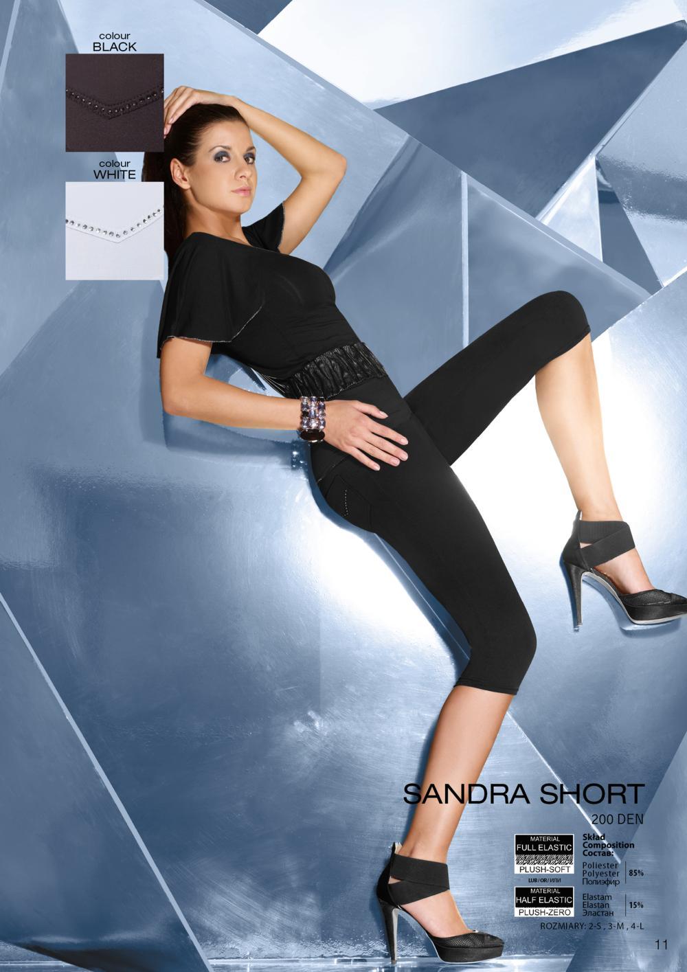 D�msk� leg�ny Sandra short