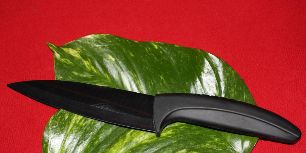 Keramický nůž Universal (černá čepel 12,5 cm)