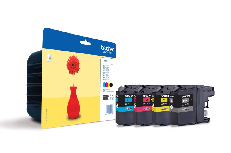 Brother LC-121VALBP, multipack CMYK