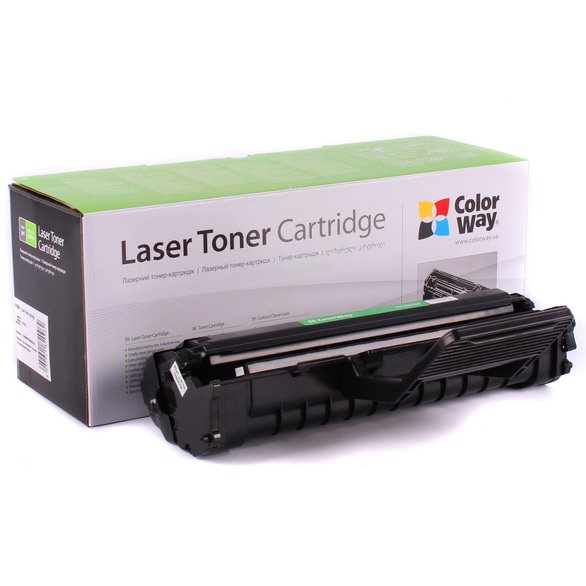ColorWay kompatibilní toner pro SAMSUNG ML-1610D2/ ML-2010D3/ Černý/ 3000 stran + Dárek! ColorWay Čistící ubrousky pro LCD monitory/ Televize/ Notebooky