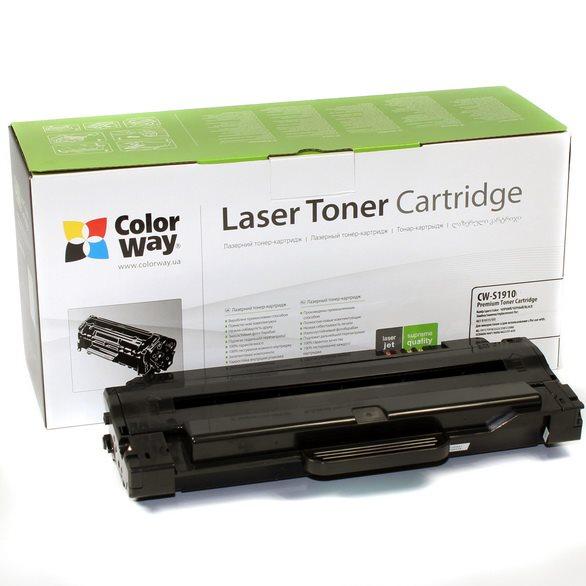 ColorWay kompatibilní toner pro Samsung MLT-D105S/ Černý/ 1 500 stran + Dárek! ColorWay Čistící ubrousky pro LCD monitory/ Televize/ Notebooky