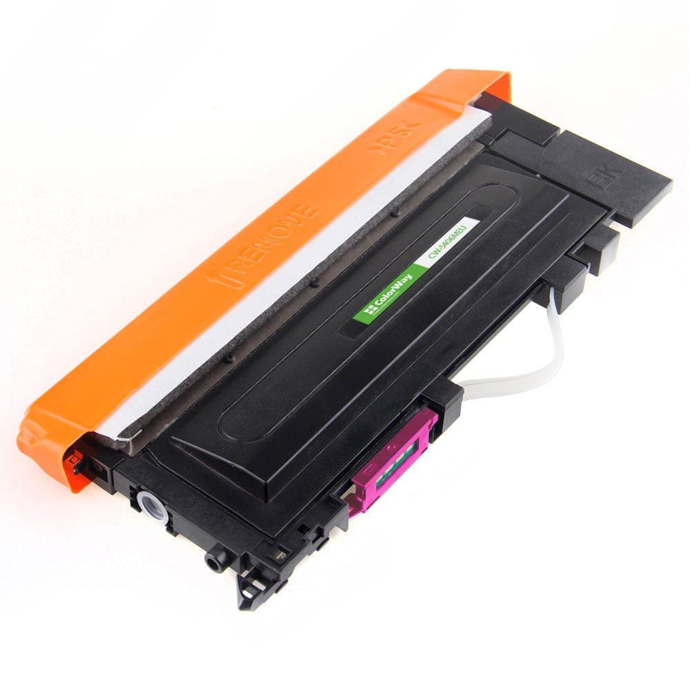 ColorWay kompatibilní toner pro SAMSUNG CLT-M406S/ Purpurový/ 1 000 stran + Dárek! ColorWay Čistící ubrousky pro LCD monitory/ Televize/ Notebooky
