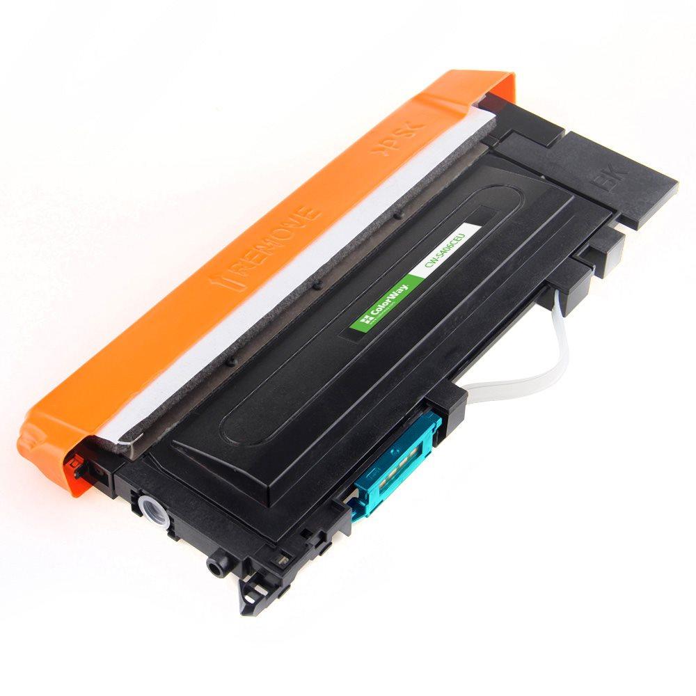ColorWay kompatibilní toner pro SAMSUNG CLT-C406S/ Modrý/ 1 000 stran + Dárek! ColorWay Čistící ubrousky pro LCD monitory/ Televize/ Notebooky
