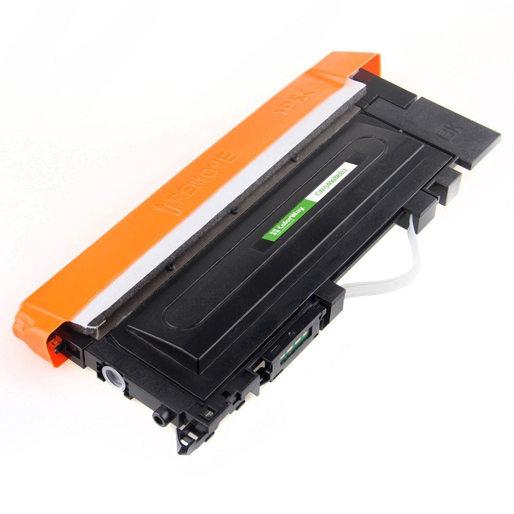 ColorWay kompatibilní toner pro SAMSUNG CLT-K406S/ Černý/ 1 500 stran + Dárek! ColorWay Čistící ubrousky pro LCD monitory/ Televize/ Notebooky