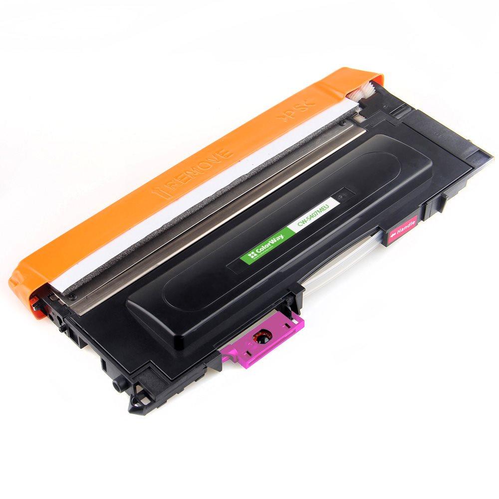 ColorWay kompatibilní toner pro SAMSUNG CLT-M407S/ Magenta/ 1 000 stran + Dárek! ColorWay Čistící ubrousky pro LCD monitory/ Televize/ Notebooky
