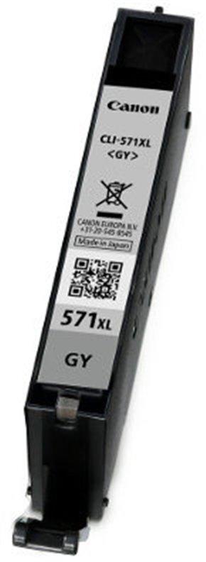 CANON CLI-571 XL G, šedý velký, originální