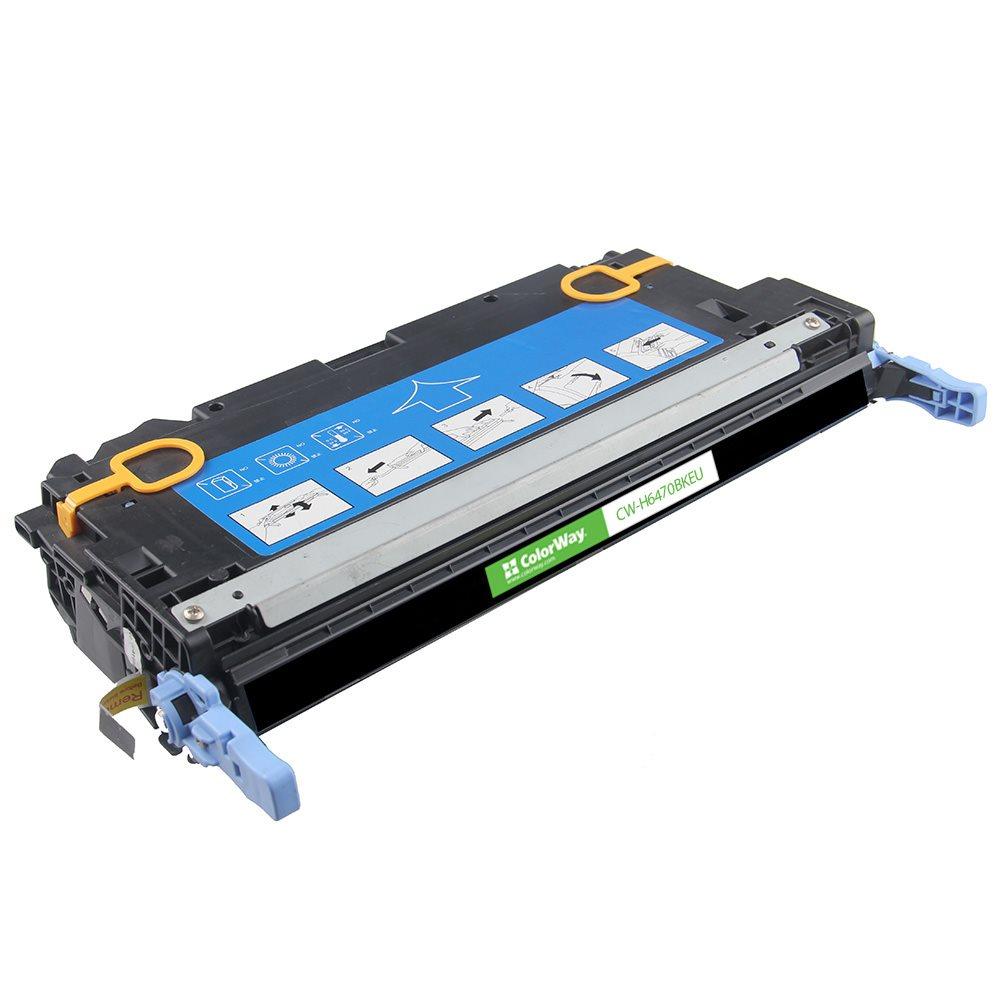 ColorWay kompatibilní toner pro HP Q6470A/ Černý/ 6 000 stran + Dárek! ColorWay Čistící ubrousky pro LCD monitory/ Televize/ Notebooky
